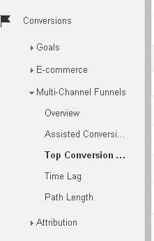 Multi Channel Funnel 1