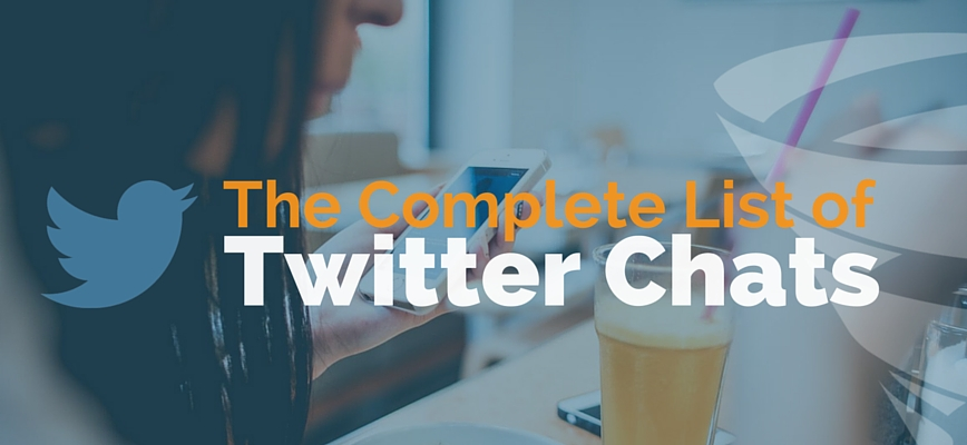 TheComplete TwitterChats List