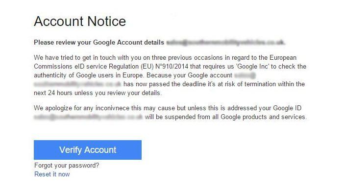 AdWords Phishing Attacks