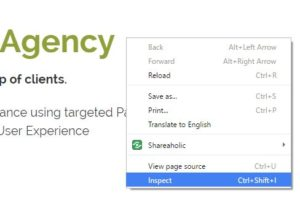 Use the Chrome Inspect Element function to check and improve WordPress page load times