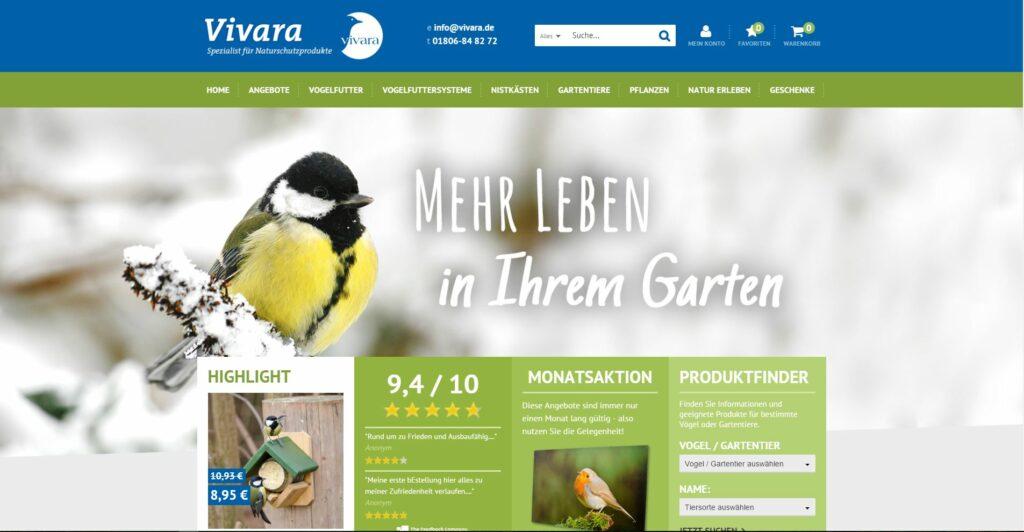 Magento eCommerce Store - Vivara