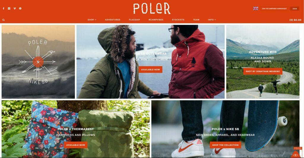 Shopify eCommerce Store - Poler Stuff