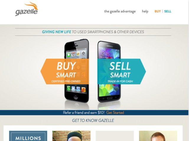 BigCommerce Showcase Gazelle Electronics