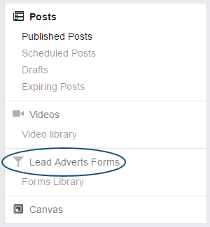 Facebook Lead Generation Ads - Download Leads