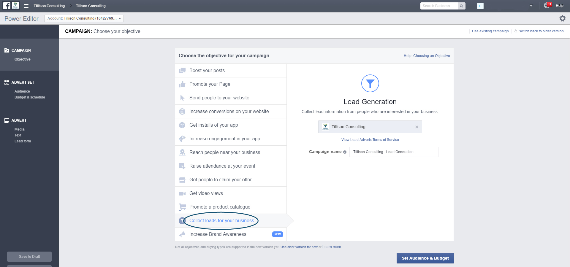 Facebook Lead Generation Ads - Collect Leads
