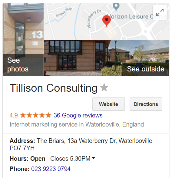 Voice Search SEO - Tillison Consulting