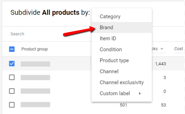 Brand Segmentation in Google Shopping - Tillison Consulting